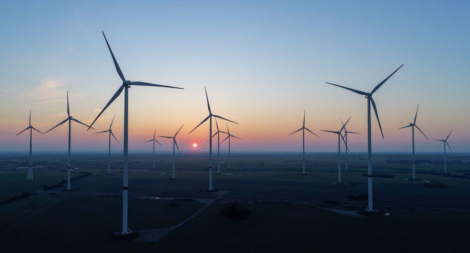 Windpark (Symbolbild)