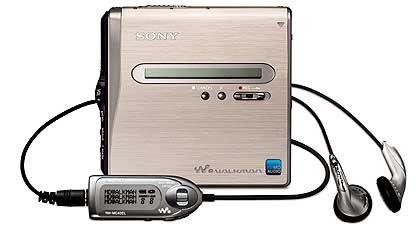 Mini-Disc-Flaggschiff: Sonys MZ-NH1 kostete 2004 etwa 450 Euro