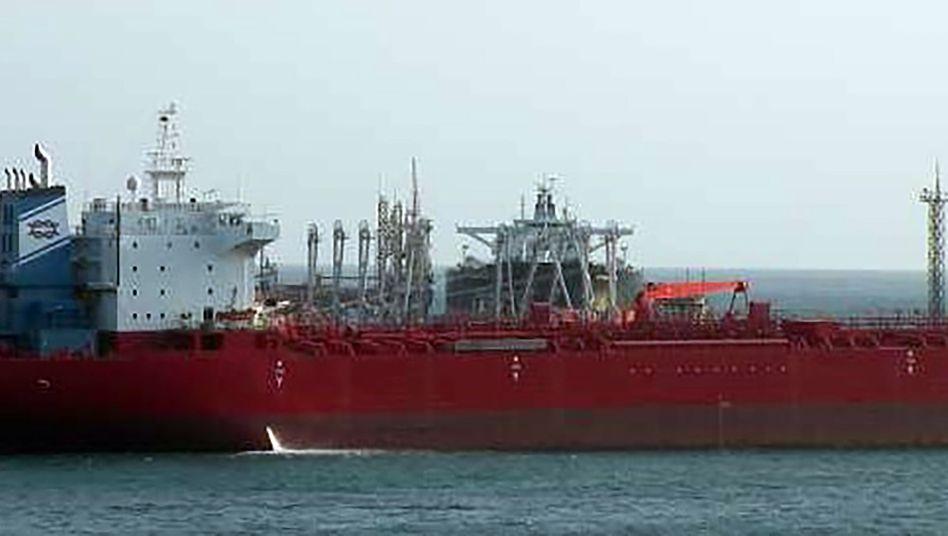 """Unter anderem der iranische Tanker """"Pandi"""" wurde von US-Behörden beschlagnahmt"""
