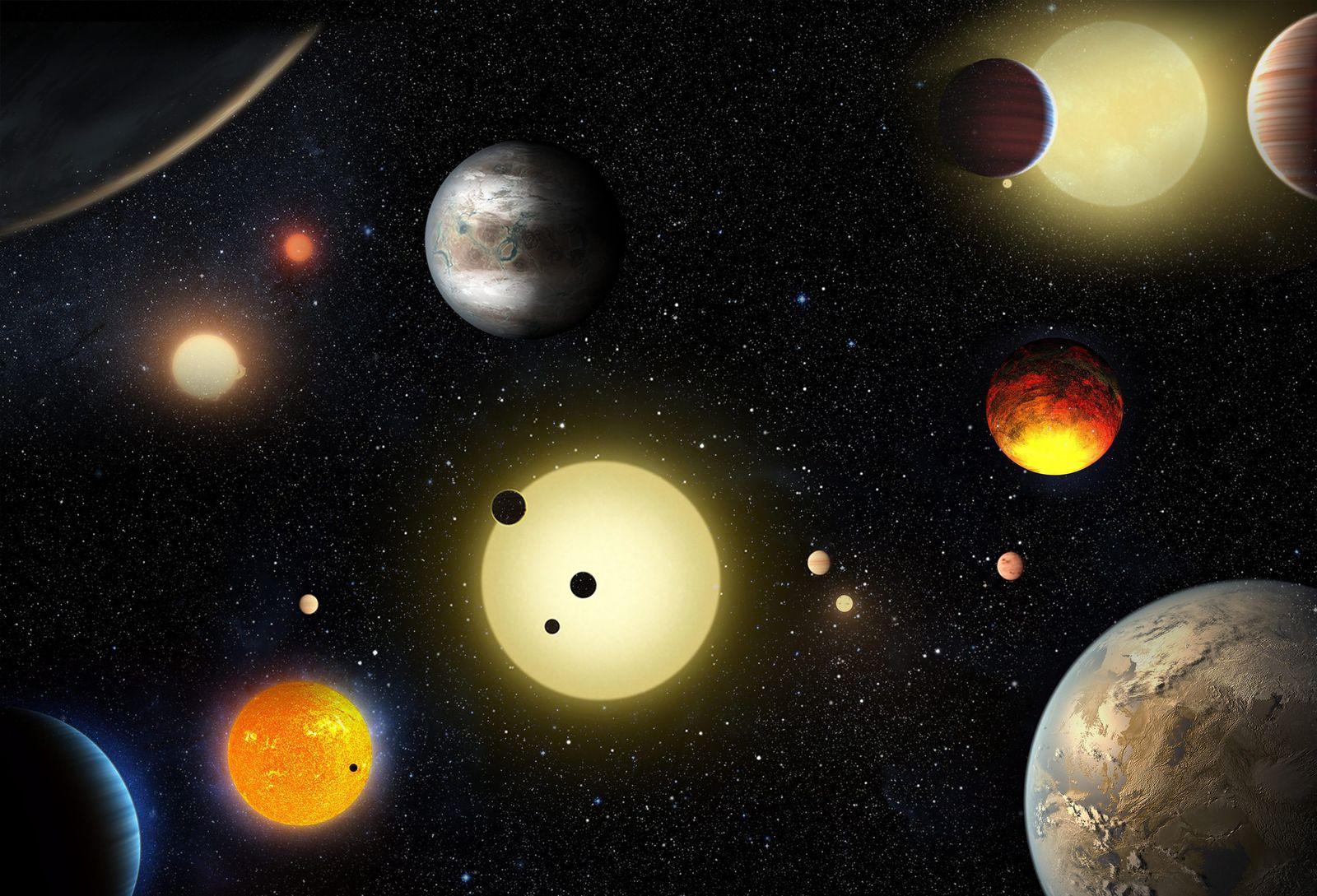 Nasa neue Planeten entdeckt