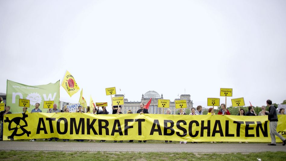Will anti-nuclear protests, like this one held ahead of an important vote in parliament in Berlin on Thursday, become less common now that Germany is abandoning the atom?