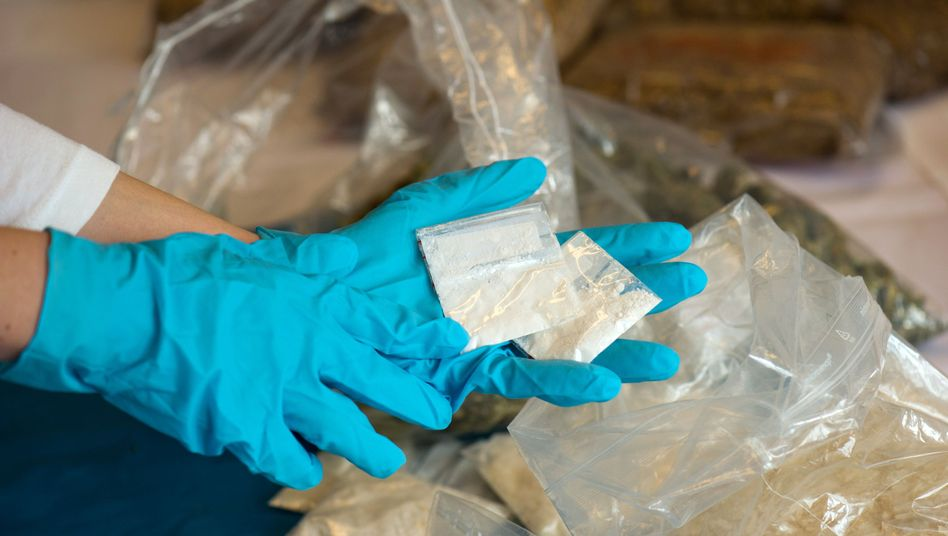 Sichergestelltes Crystal Meth (Archivbild): Droge mit breitem Nutzerspektrum