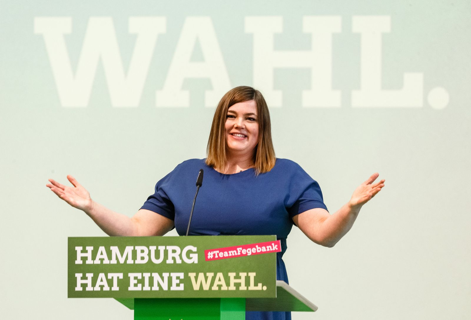 Bürgermeisterkandidatin Katharina Fegebank