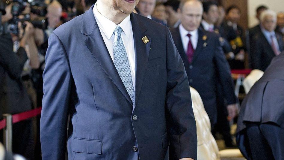 Präsident Xi Jinping Unbehagen über das Vorgehen Moskaus