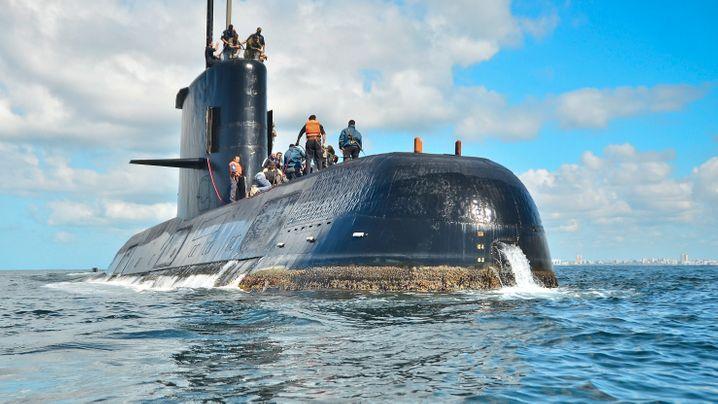 """U-Boot ARA """"San Juan"""": Verschollen im Südatlantik"""