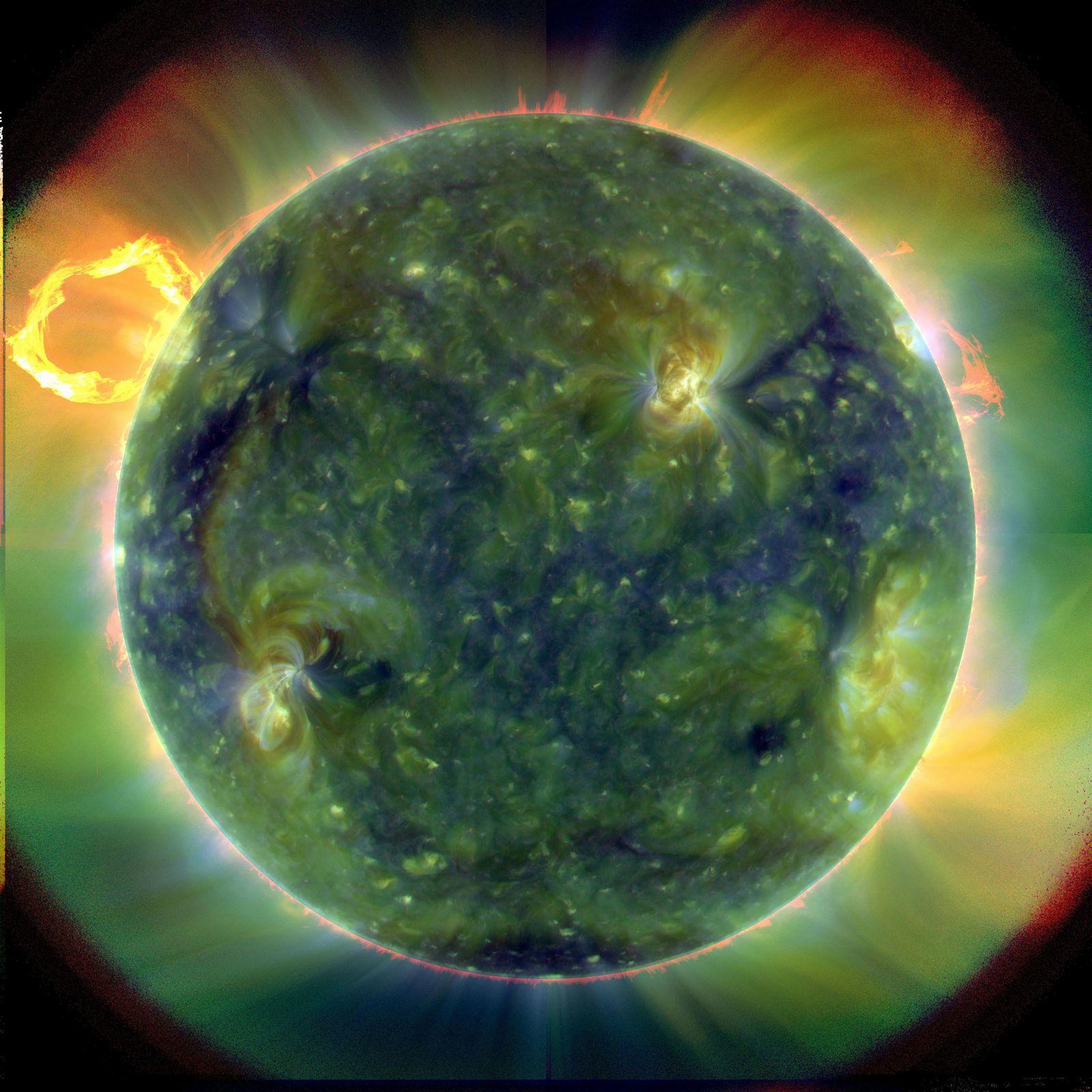 NASA-Sonnensatellit funkt «atemberaubende» erste Bilder