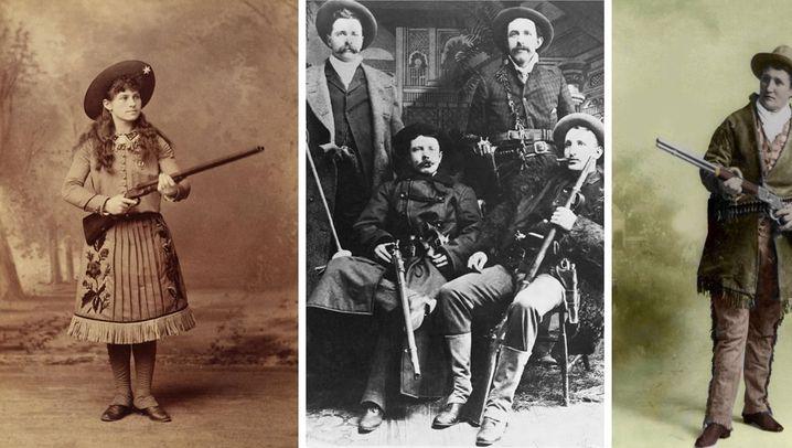 Wilder Westen: Die größten Revolverhelden und Flintenweiber