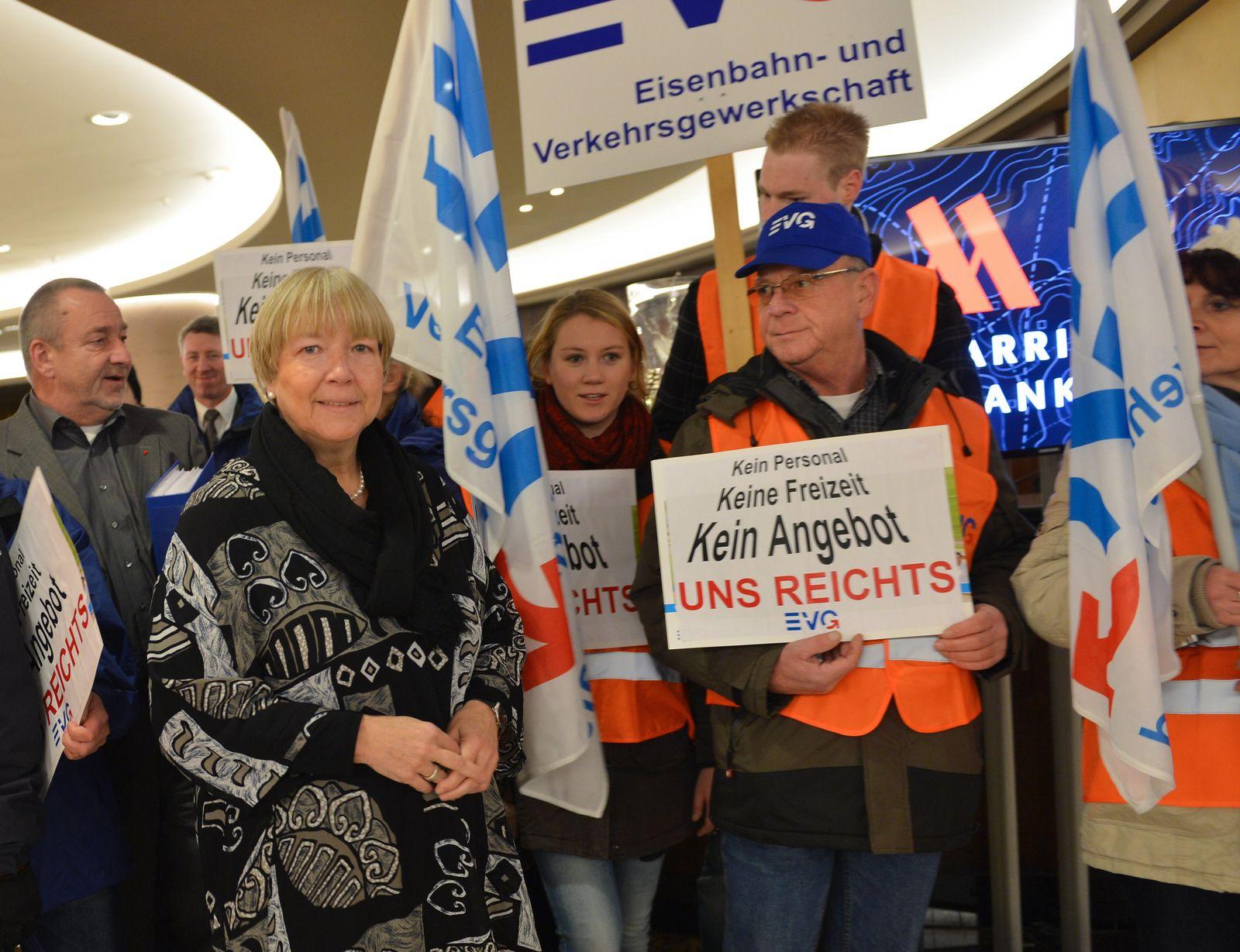 Bahn und EVG verhandeln erneut