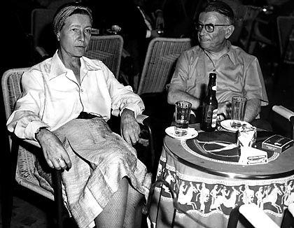 Jean- Paul Sartre and Simon de Beauvior: the couple of the century