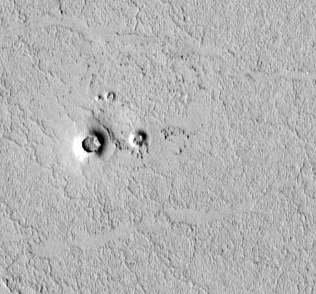 """Spuren von Wasser: Nach den """"Mars-Seen sollen nun Lavakrater auf das nasse Element hindeuten"""