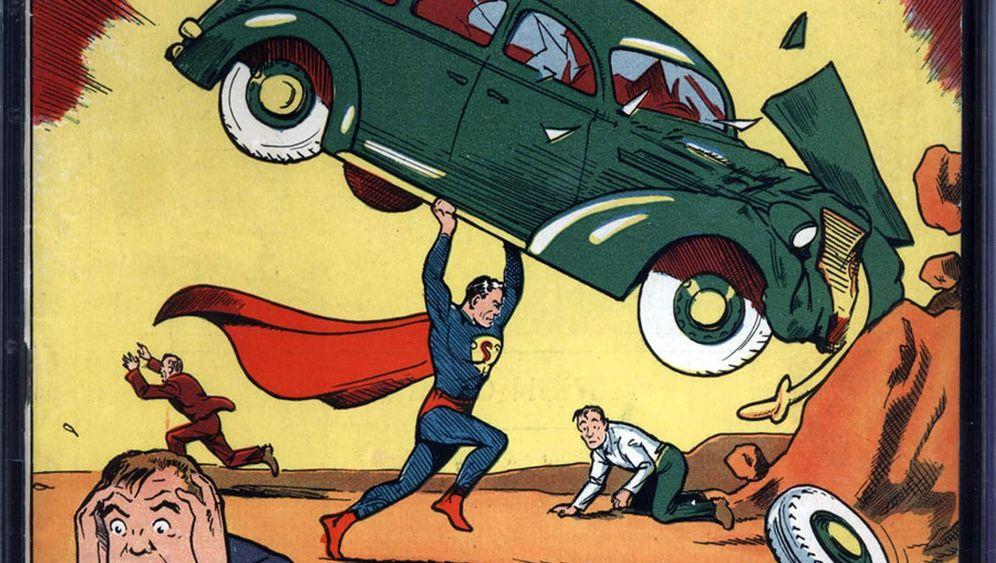 """""""Superman""""-Comic: Nicolas Cage und sein Schatz"""