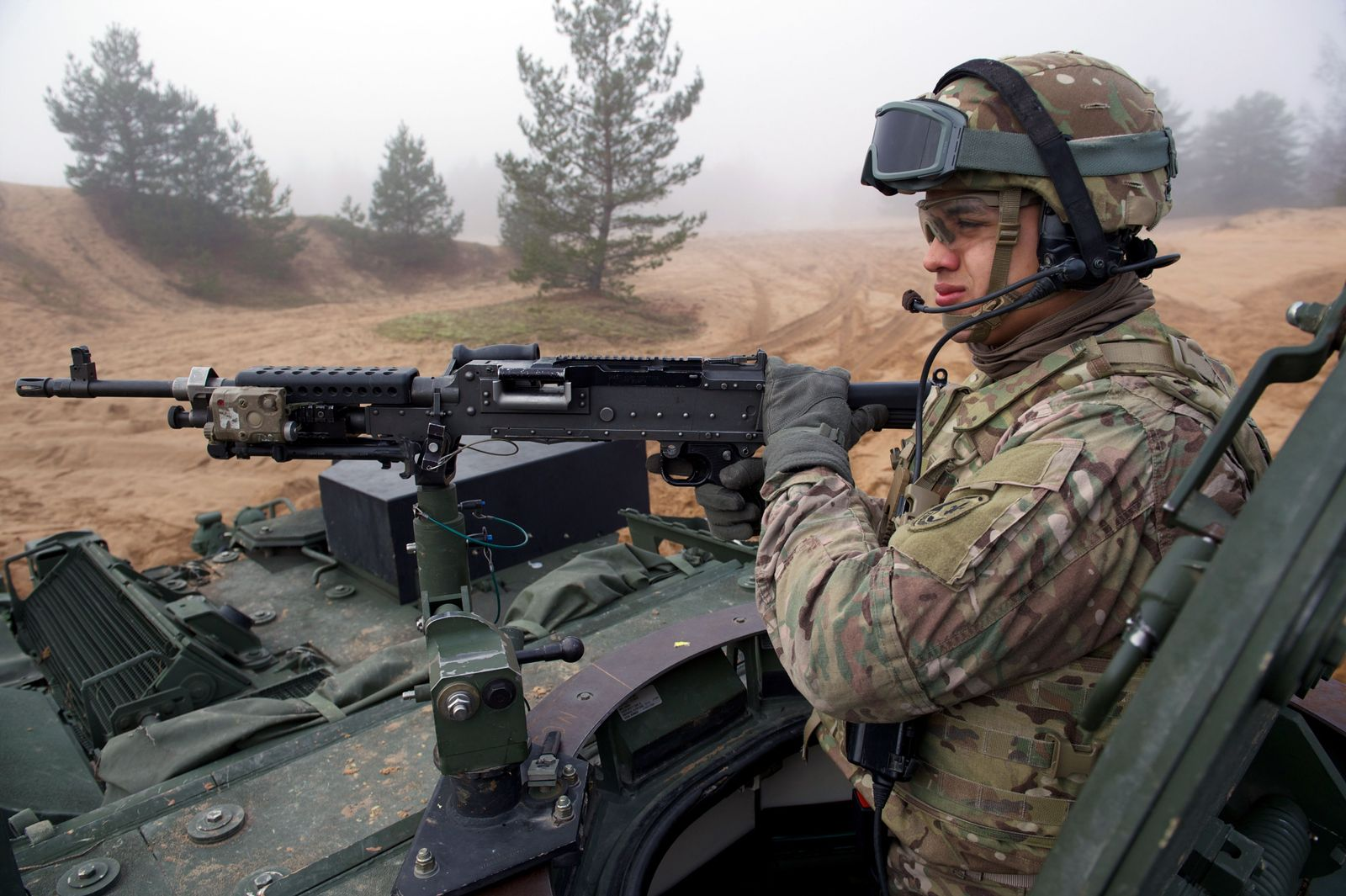 UKRAINE-RUSSIA-CRISIS-NATO-LATVIA-DEFENCE
