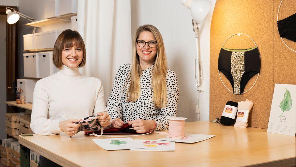 Gründerinnen Zeller (links) und Ernst: »Warum werden für Frauen so oft Produkte entwickelt, die komplett an den Bedürfnissen der Frauen vorbeigehen?«