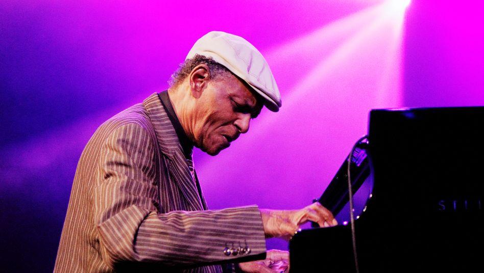 McCoy Tyner beim Jazz-Festival Middelheim in Antwerpen im Jahr 2010