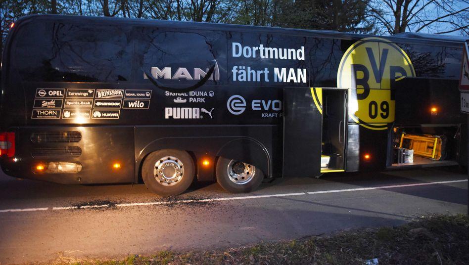 Attackierter BVB-Bus