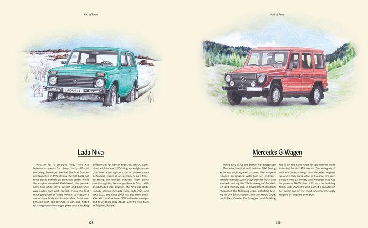 Würdigung der besten Offroad-Fahrzeuge im Buch