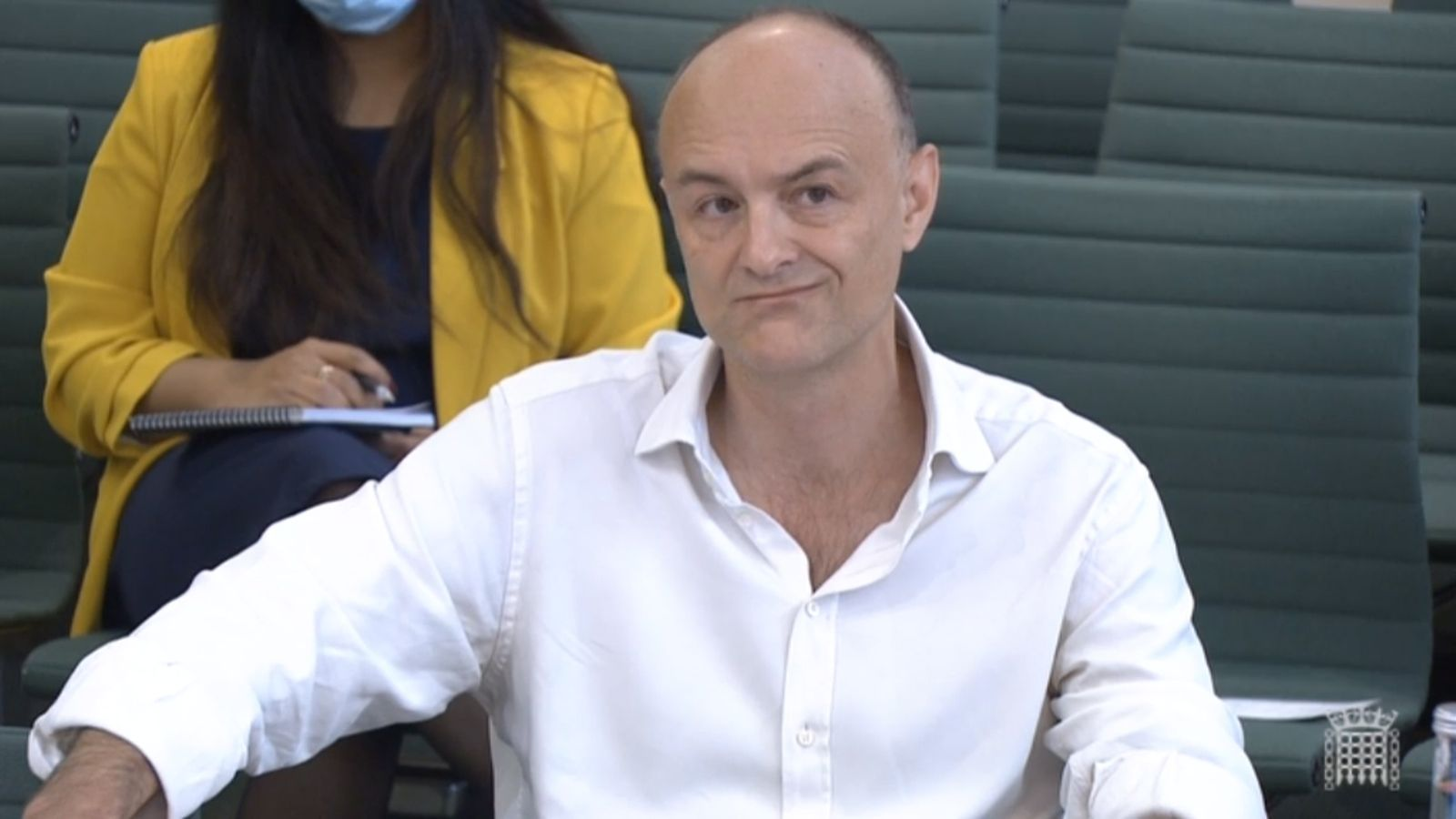 Dominc Cummings gives evidence of British gov't handling of Covid crisis