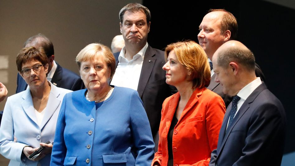 Koalitionsausschusssitzung zum Thema Klima: Entwurf bleibt hinter ursprünglichen Plänen zurück