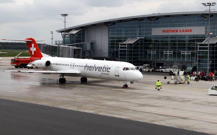 Flughafen Rostock-Laage: Ein Bild aus besseren Zeiten