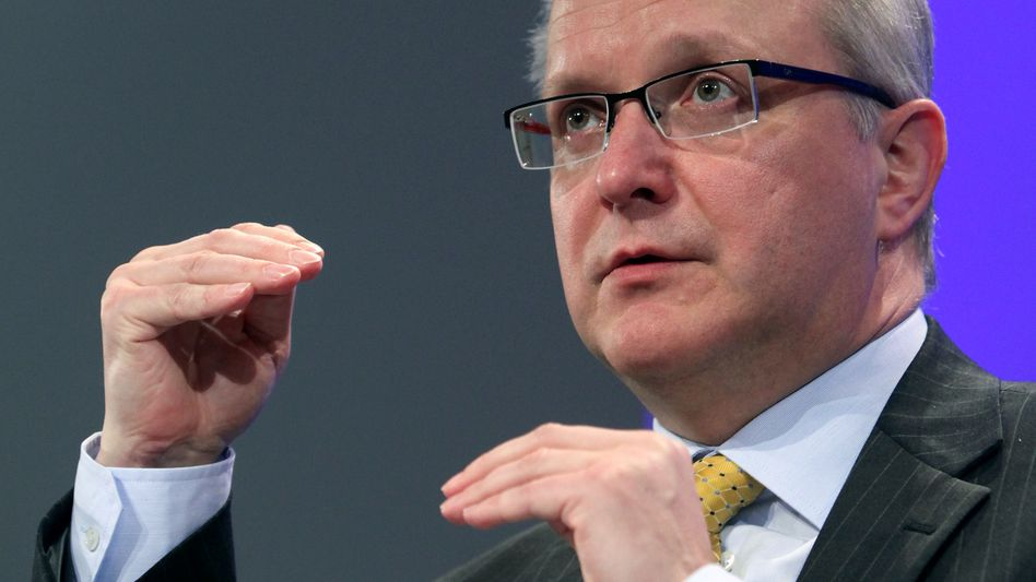 EU Commissioner for Economic Affairs Olli Rehn in Brussels on Wednesday.
