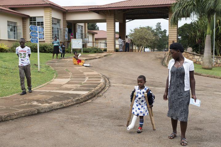 Das Corsu-Krankenhaus in Kampala.