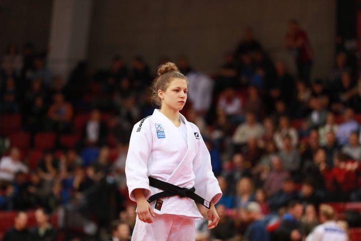 Judoka Theresa Stoll ist bereits für Tokio qualifiziert, aber wegen der Pandemie verunsichert