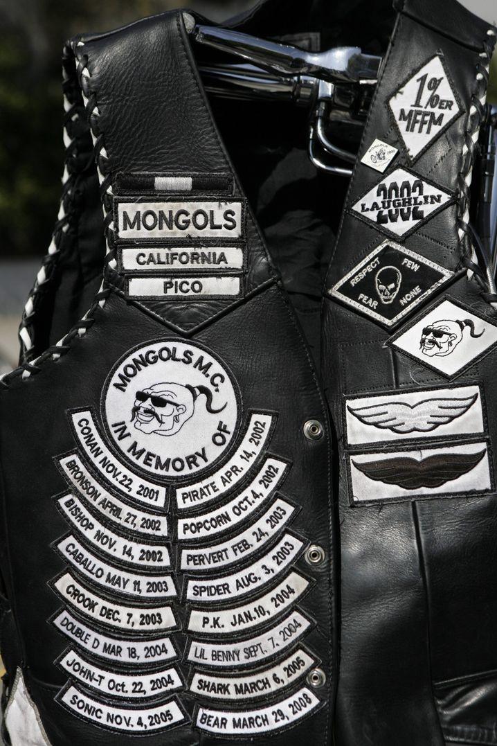 Mongols-Weste in Kalifornien