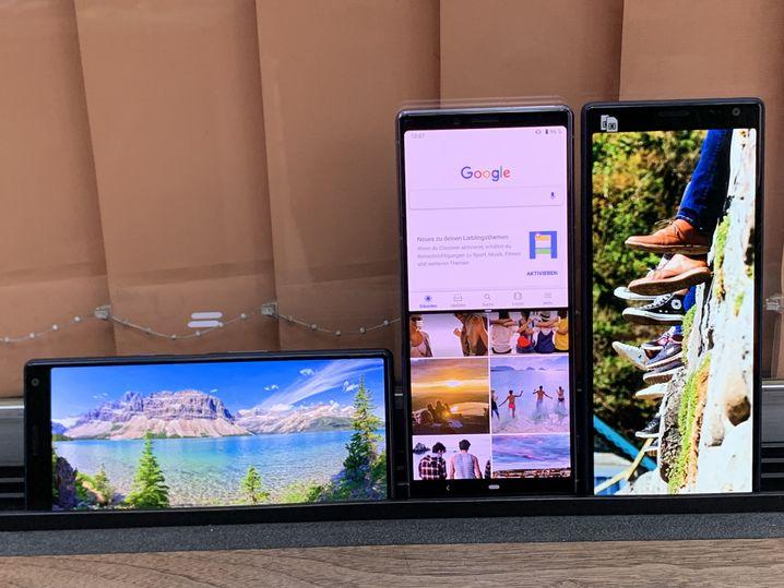 Die neuen Sony-Xperia-Smartphones