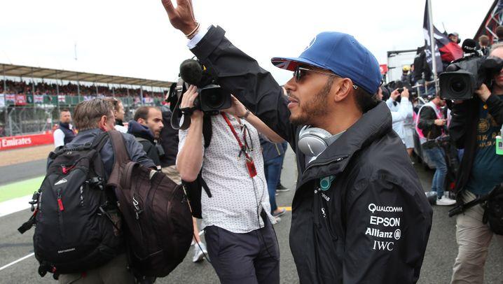 Formel 1: Hamiltons Heim-Hattrick