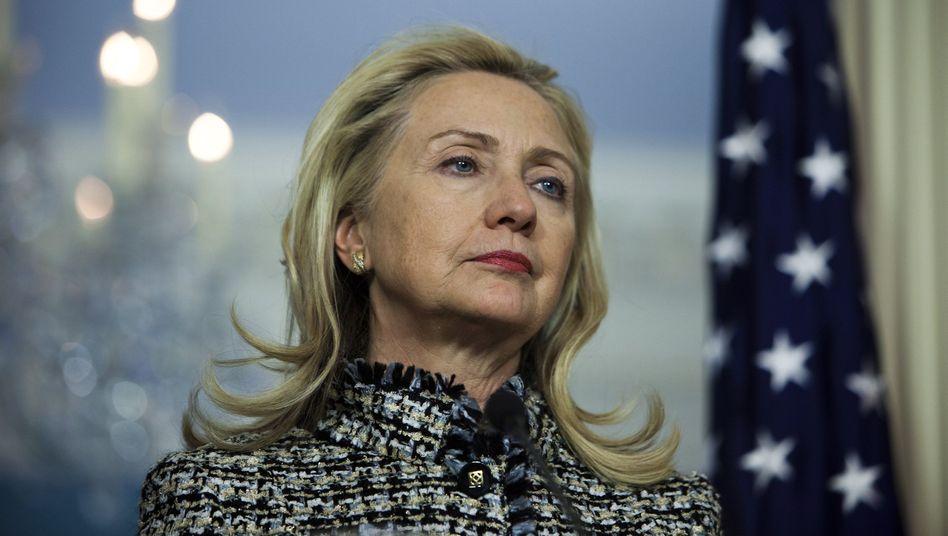 """US-Außenministerin Clinton: """"Die russische Politik trägt zu einem Bürgerkrieg in Syrien bei"""""""