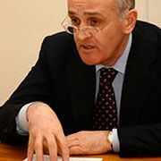 """Abkhazian Prime Minister Alexander Ankvab: """"We don't want a war."""""""