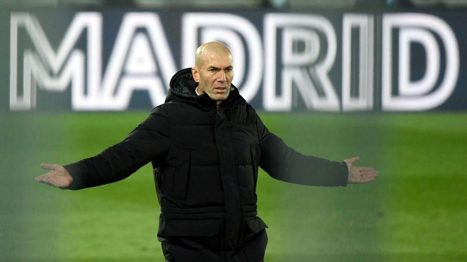 Zinédine Zidane (im Dezember 2020)