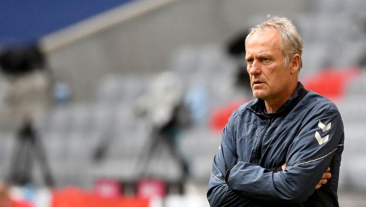 Christian Streich 2012 (links) und 2020: Er ist der am längstem amtierende Trainer der Bundesliga