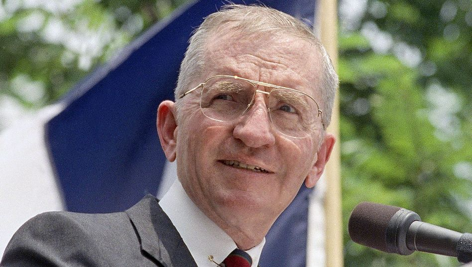"""Ross Perot: """"It's just that simple"""""""