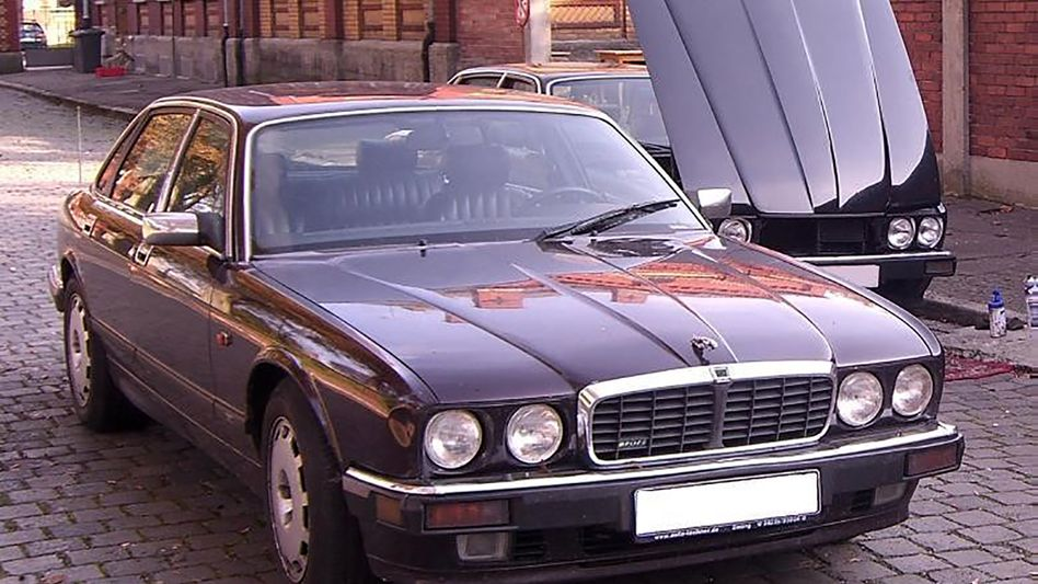 Jaguar XJR 6: Wer sah diesen Wagen an der Algarve?