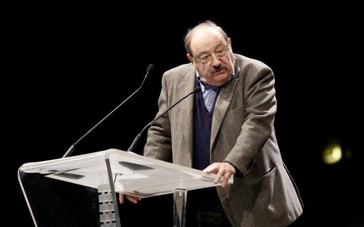 Umberto Eco (2011 in Mailand): Mit ihm hat Italien seine wichtigste moralische und streitlustige Instanz verloren.