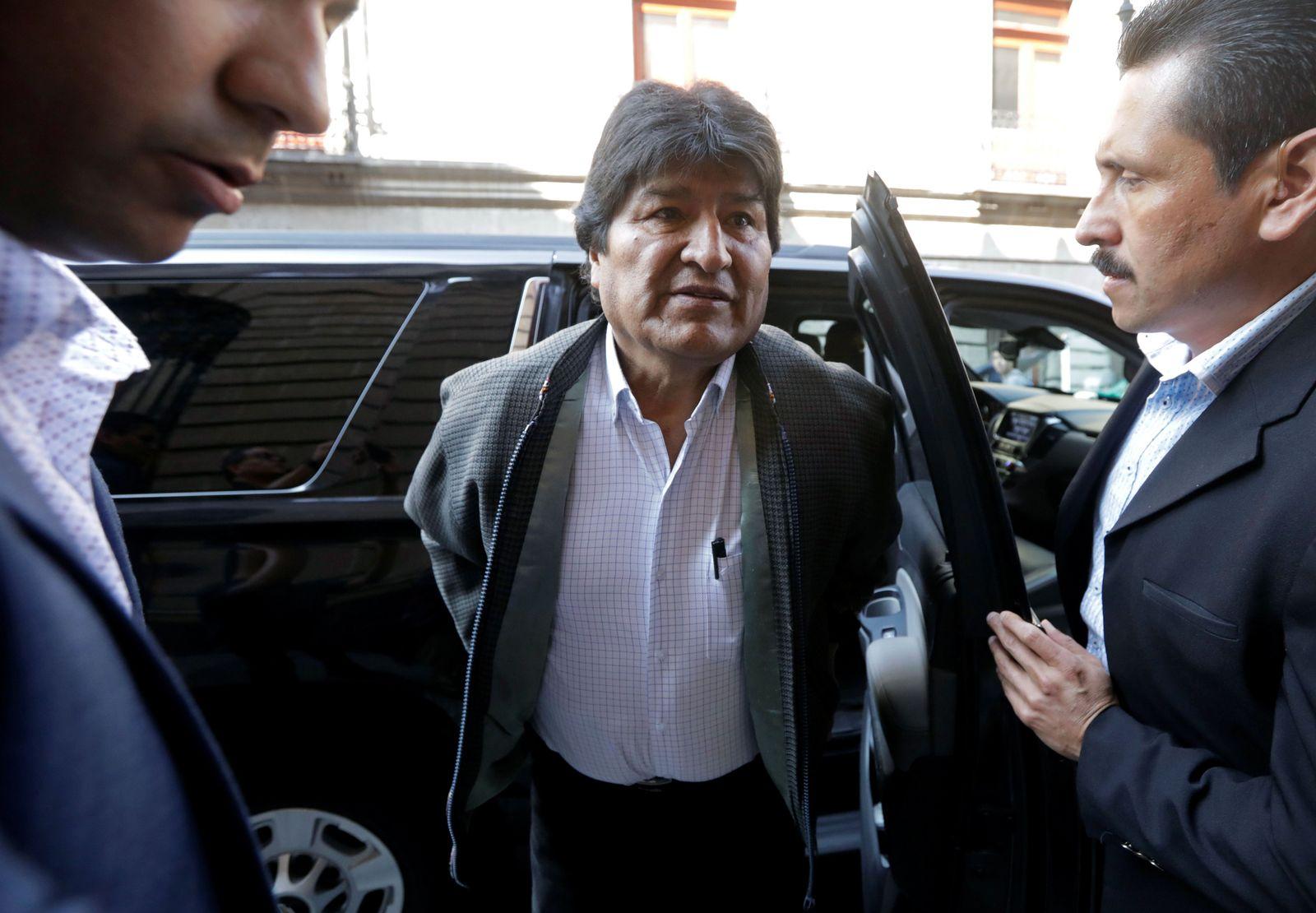 Evo Morales/ 2019