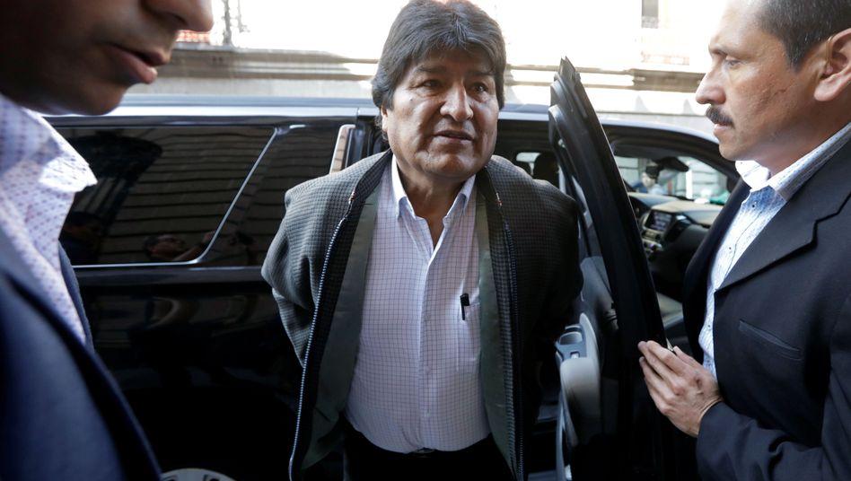 Früherer bolivianischer Präsident Evo Morales: Flüchtlingsstatus in Argentinien