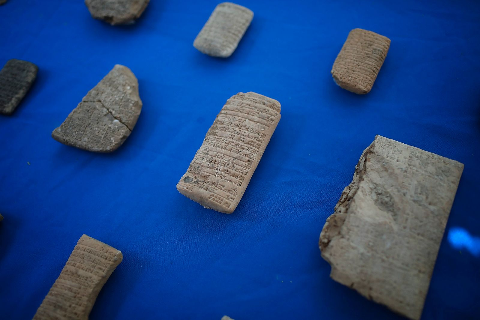 ICE Returns Ancient Artifacts Seized From Hobby Lobby To Iraq