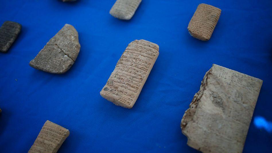 Bereits 2018 waren Artefakte aus babylonischer Zeit aus den USA an den Irak zurückgegeben worden
