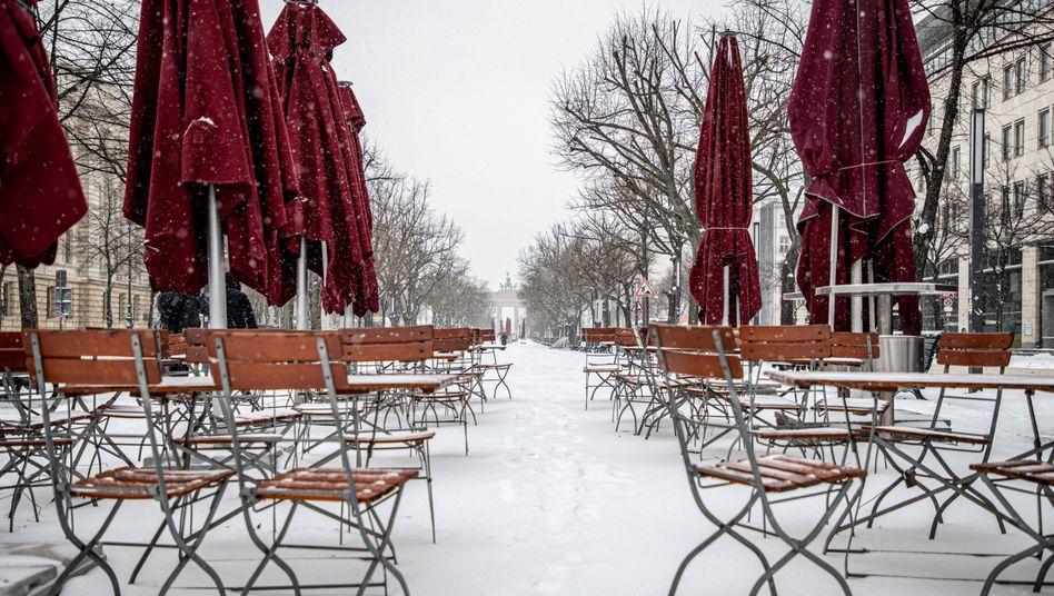 Brandenburger Tor am Pariser Platz: Auf unbestimmte Zeit geschlossen