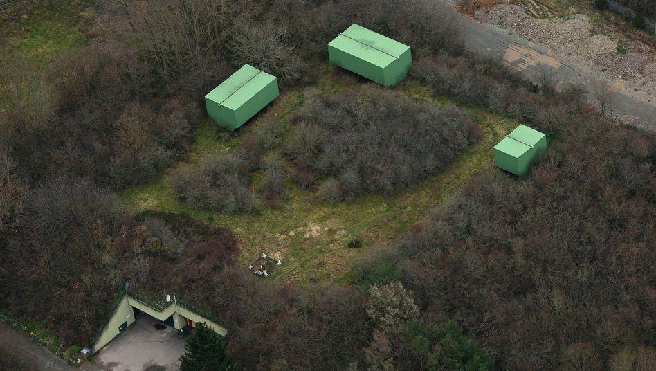 Bunkeranlage über Traben-Trarbach
