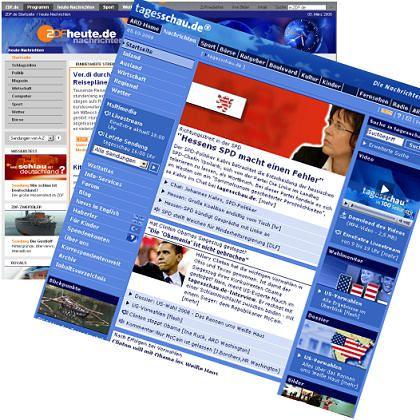 Web-Angebote von ARD und ZDF: Elektronische Presse?