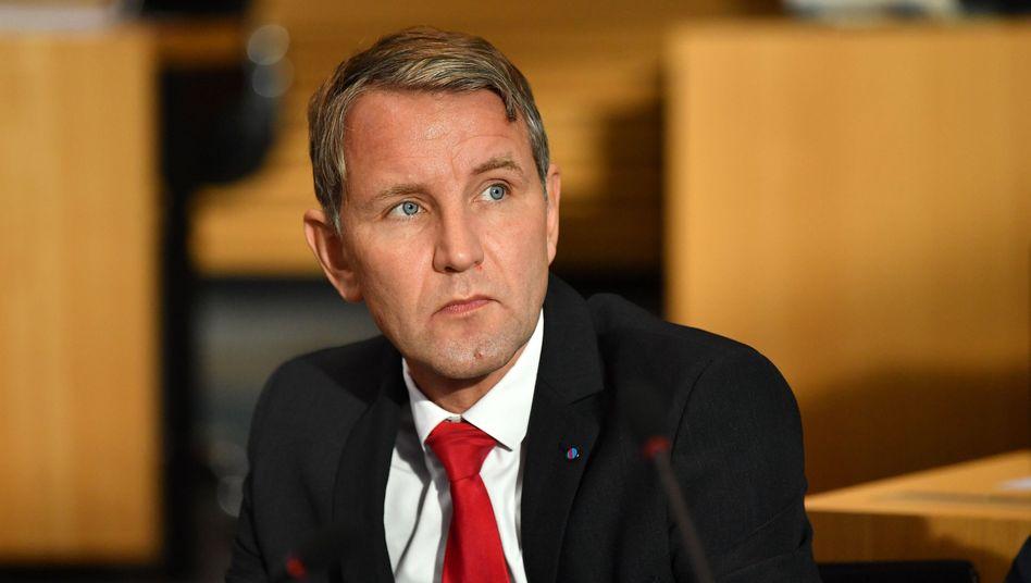Björn Höcke: AfD-Spitzenkandidat bei der Thüringen-Wahl