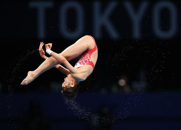 Quan Hongchan gewann Gold