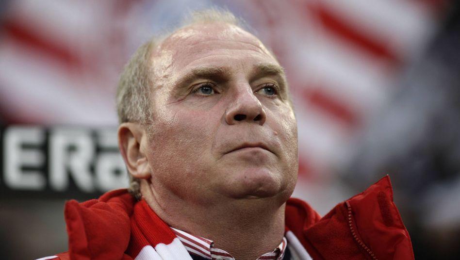 """Bayern-Präsident Hoeneß (Archiv): """"Unsere Mannschaft hat eine große Zukunft"""""""