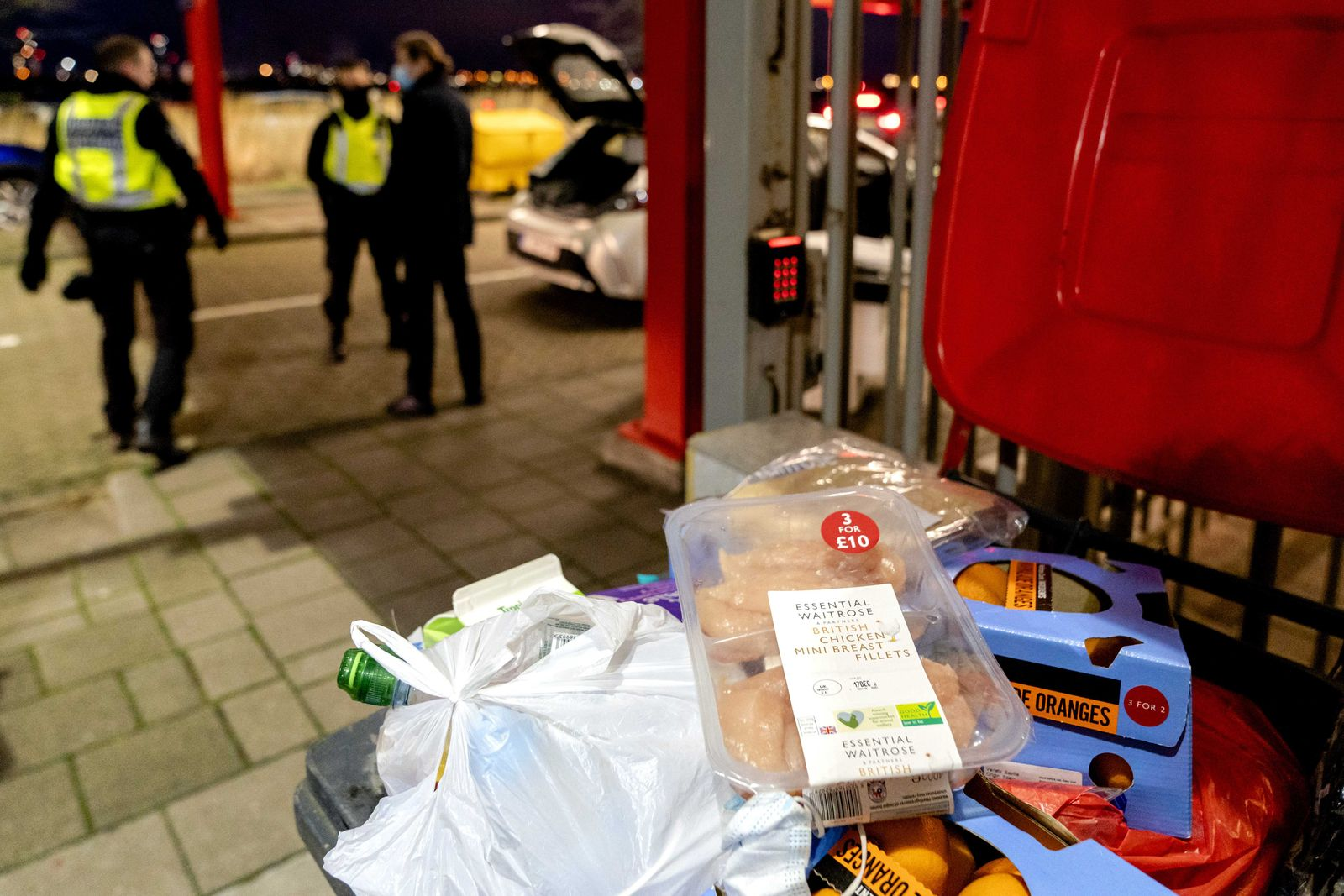 Customs checks travelers from the United Kingdom, Hoek Van Holland, Netherlands - 06 Jan 2021