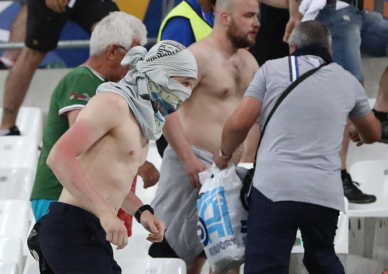 Soccer Euro 2016 England Russia