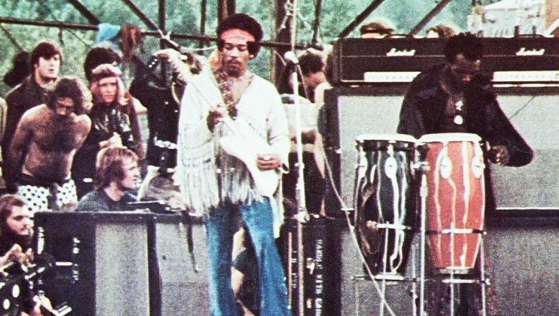 Teures Vergnügen: Jimi Hendrix bei seinem Auftritt in Woodstock