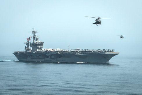 Der amerikanische Flugzeugträger USS »Theodore Roosevelt«